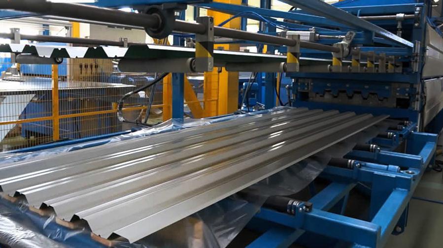 Оцинкованная рулонная сталь для производства профнастила