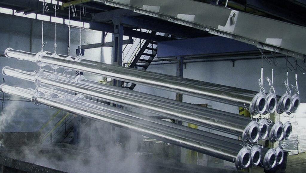 Дефекты горячего цинкования стали