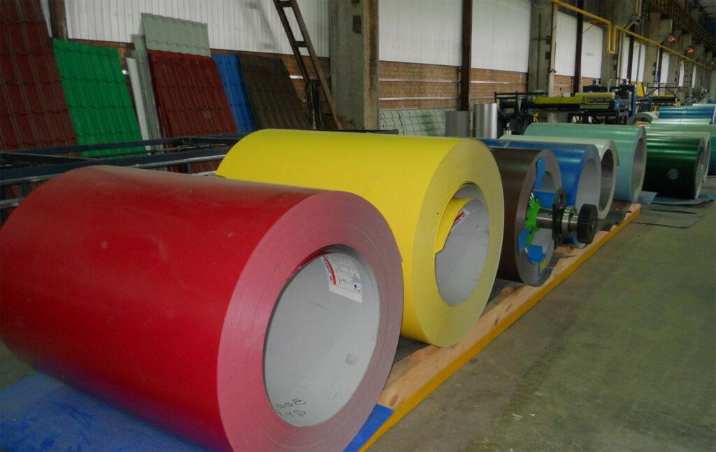 Полимерное покрытие стали