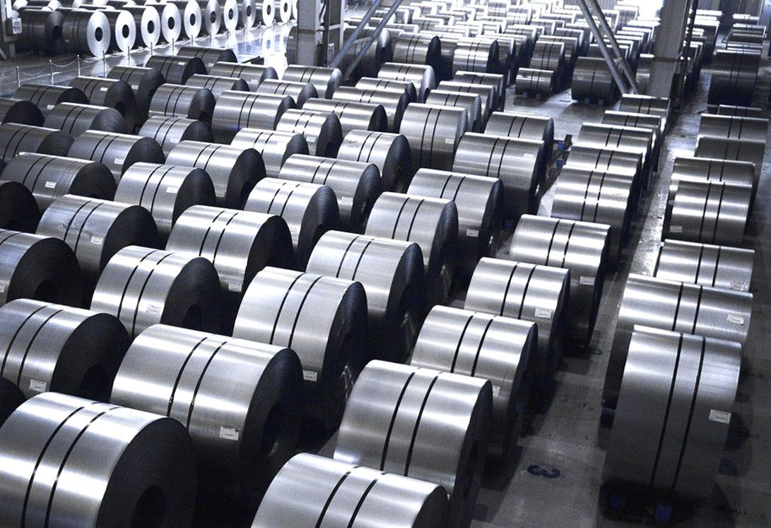 Оцинкованная сталь в рулонах для строительства
